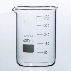 """כוס כימית 400 מ""""ל"""