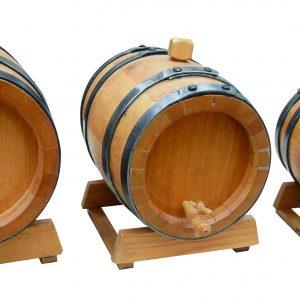 חבית עץ אלון יישון יין –  10 ליטר